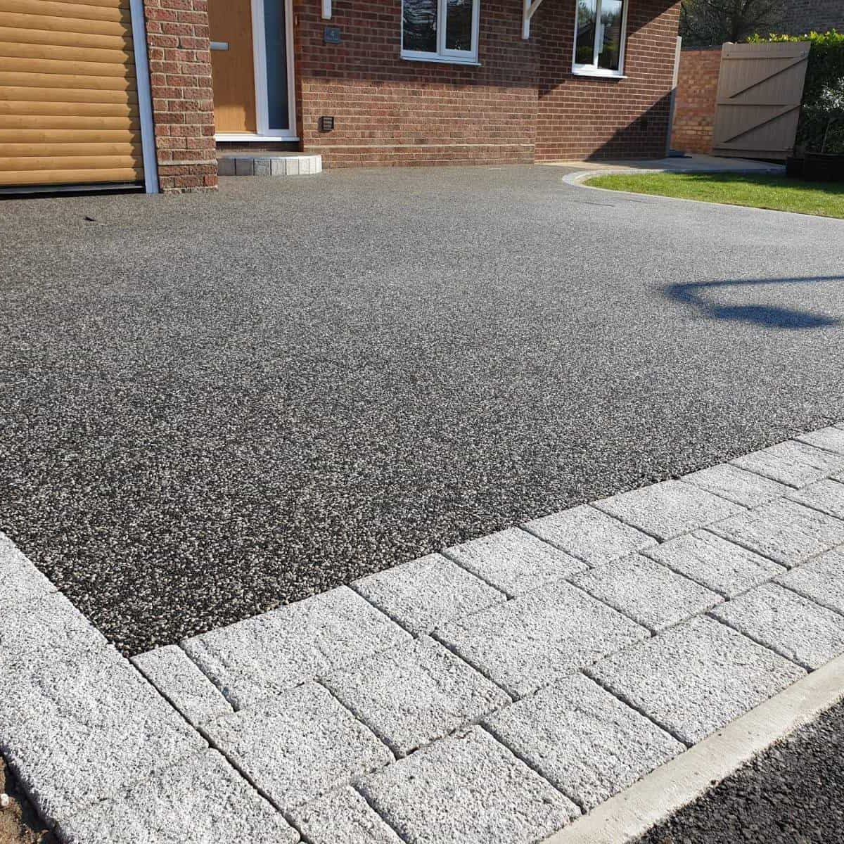 resin driveway colchester